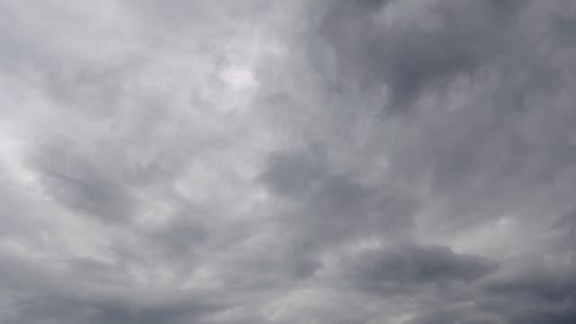嵐の空、ブルー - ローアングル点の映像素材/bロール