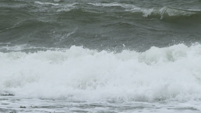 Stormy waves in south west Scotland