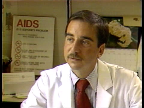 AIDS / Story 2 CMS Dr DONALD ABRAMS INTVW SOF