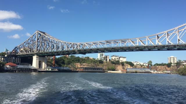 Story Bridge from Brisbane River