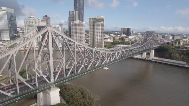 story bridge tilt - stainless steel stock videos & royalty-free footage