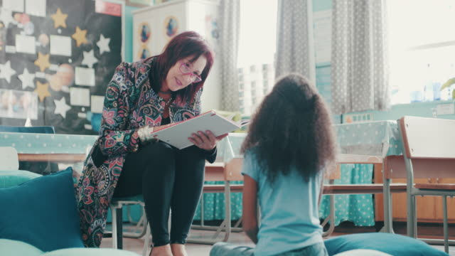 story time is the best time - librarian stock videos & royalty-free footage