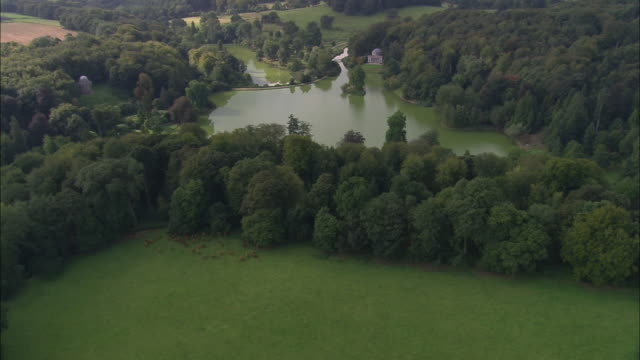 stourhead garden - stately home stock videos & royalty-free footage