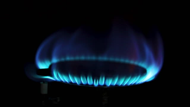 stove fire gas in kitchen - stove stock videos & royalty-free footage
