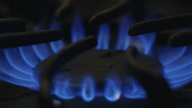 stove - ガスコンロ点の映像素材/bロール
