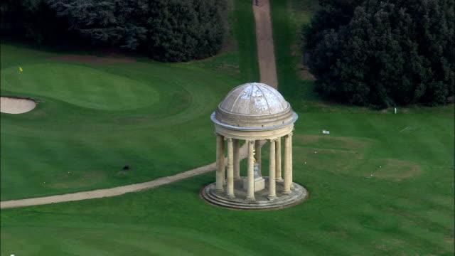 Stowe And Park Buildings  - Aerial View - England, Buckinghamshire, Aylesbury Vale, United Kingdom