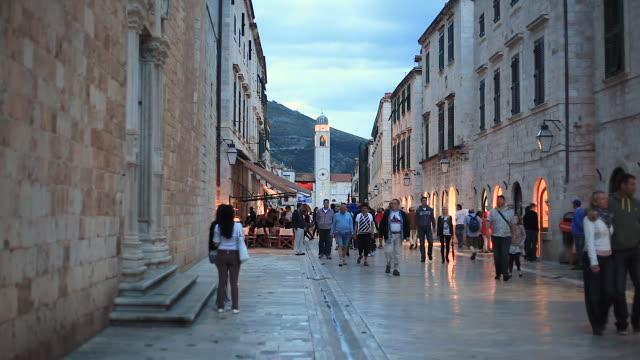 Stradun in Dubrovnik, Croatia