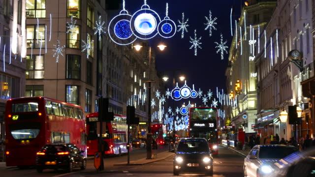Strand Xmas illuminations London