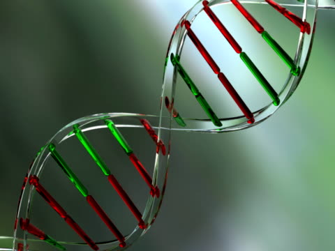 dna strands made of glass - repetition stock videos & royalty-free footage