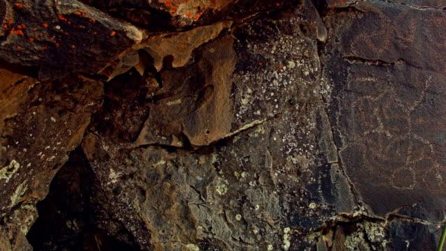 Strange person Ancient Native American Indian Rock Art at Petroglyph Lake Hart Mountain National Antelope Refuge 146
