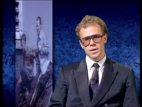 the tactics; c4 studio: interview stephen shaw prison reform trust - hm prison manchester stock videos & royalty-free footage