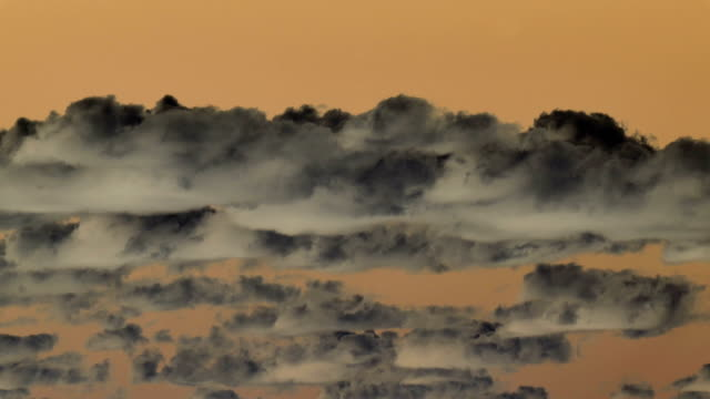 stratocumulus clouds, time-lapse - stratocumulus stock videos and b-roll footage