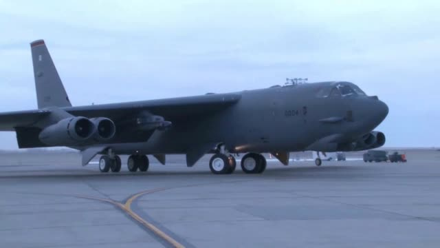 Stratofortress HD B 52 Footage from Minot AFB
