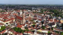 Straubing In Lower Bavaria