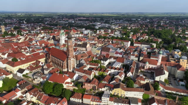 Straubing In Lower Bavaria