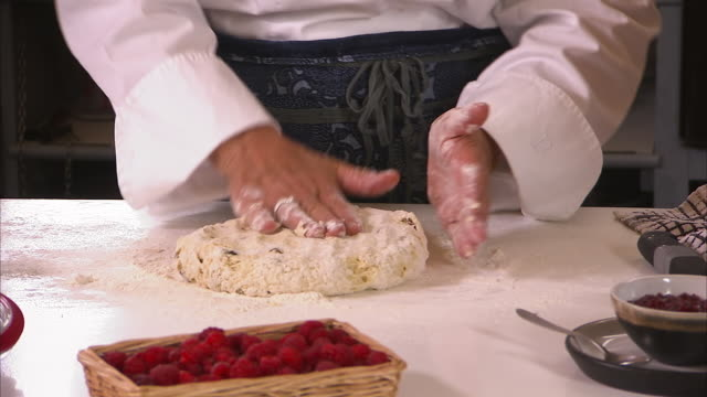strawberry spread and raisin bread - raisin stock videos and b-roll footage