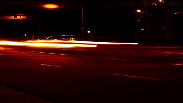 streaks of light - time lapse