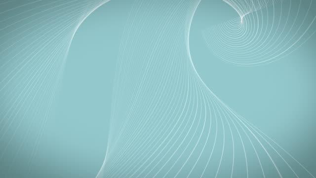 vidéos et rushes de fond bleu doux de stries bouclables - courbe