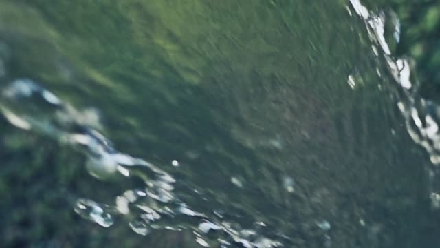 stream of water spraying from garden hose on grass - hose stock videos & royalty-free footage