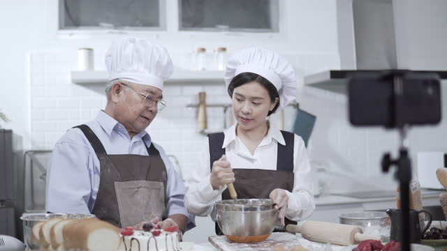stream online home cooking lessons. - live broadcast stock videos & royalty-free footage