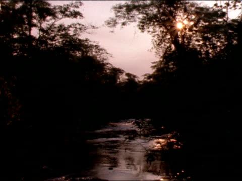 vídeos y material grabado en eventos de stock de a stream trickles over smooth rocks at iguazu falls, argentina. - cataratas del iguazú