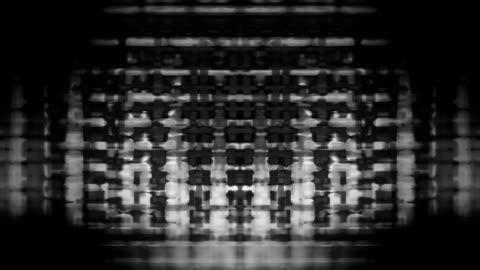 vídeos y material grabado en eventos de stock de streaming device screen pixels fluctuate with video motion - pantalla de cristal líquido
