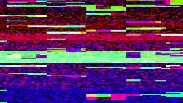 streaming video break down (loop). - computerfehler stock-videos und b-roll-filmmaterial