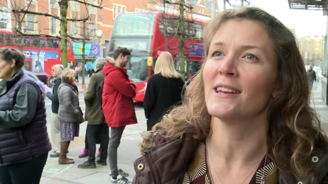tributes paid to victims uk london memorial for victims of the streatham attack multifaith leaders interview with choir leader sadiq khan interview... - dancing back to back stock videos & royalty-free footage