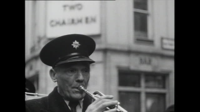 street band performs in soho, london; 1959 - 1959 stock videos & royalty-free footage