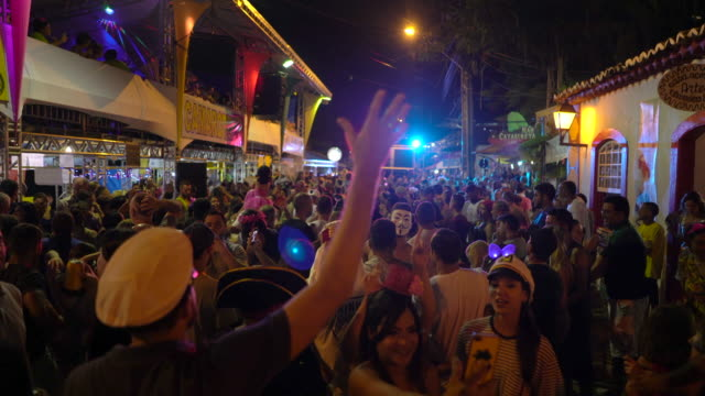street carnival, florianopolis, brazil - latin american culture stock videos & royalty-free footage