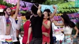 Street Carnival in Recife, Pernambuco, Brazil.