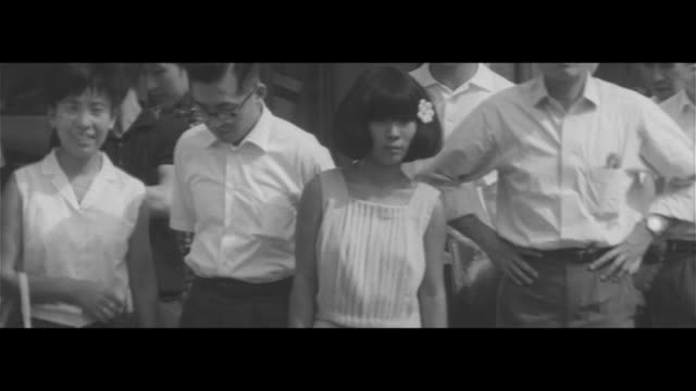 street corner discomfort index/ginza fashion in the heat stylist in suit and tie long skirt broad backs enhanced bathing suit style handbag made from... - ginza stock videos & royalty-free footage