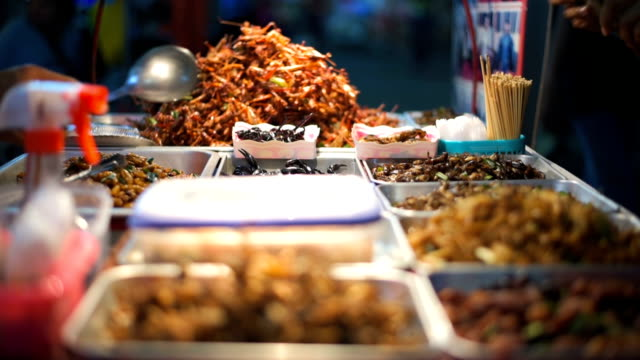 Straatvoedsel in Thailand