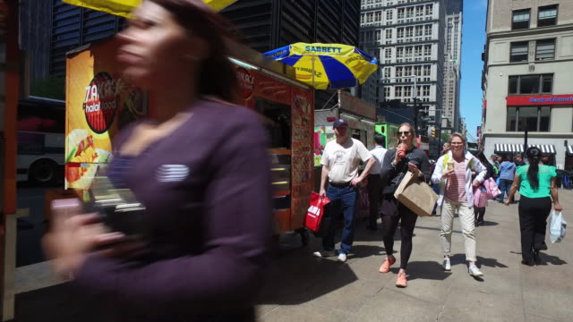 Street Food Vendors in New York City.