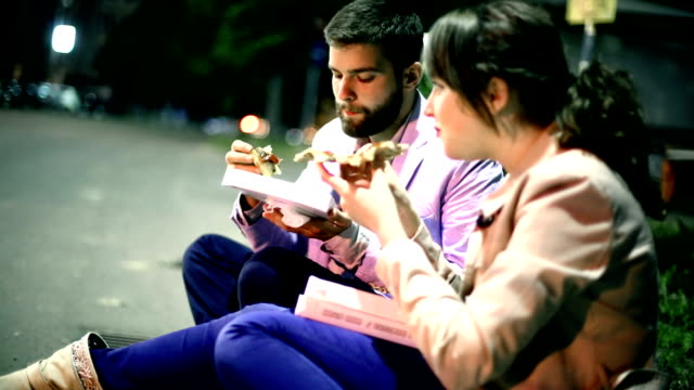 street food. - date night romance stock videos and b-roll footage
