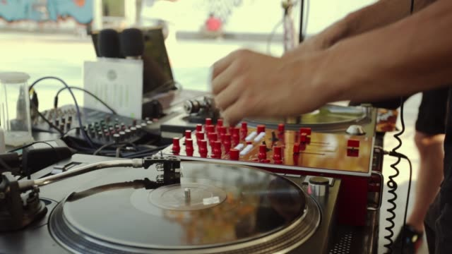 street hip hop party - group of objects stock videos & royalty-free footage