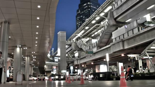 Street in Bangkok at night