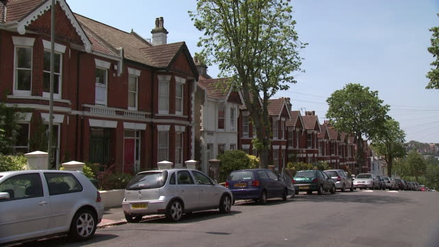 street in brighton, east sussex, uk - brighton england stock videos and b-roll footage