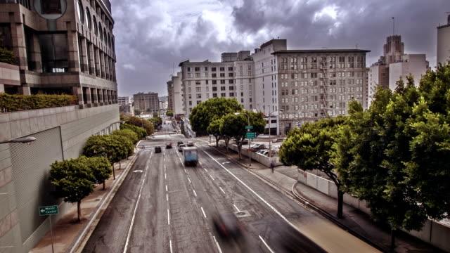 Straße in Los Angeles, USA