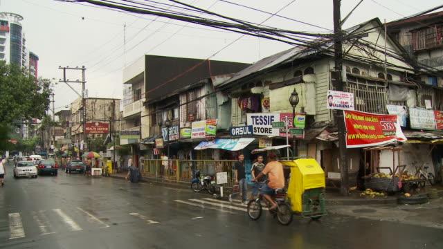 Street in Manila Philippines