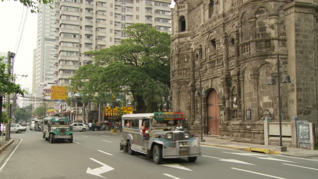 street in manila philippines - philippines stock videos & royalty-free footage