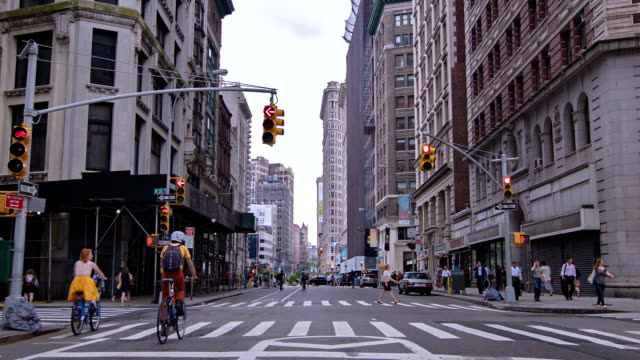 street in new york - tourism stock videos & royalty-free footage