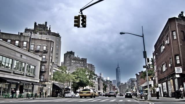 street in new york - mittlerer teil stock-videos und b-roll-filmmaterial