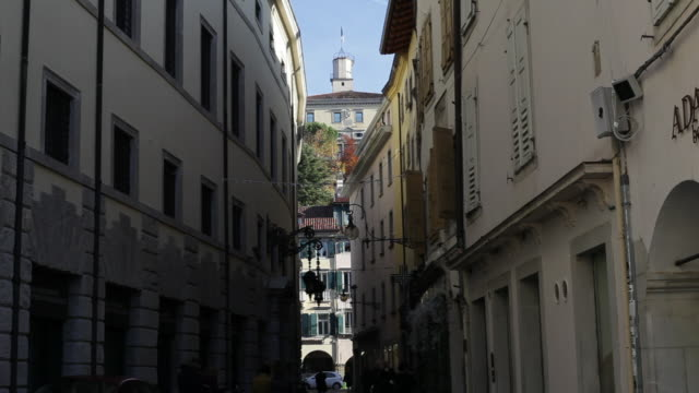 A street in the center of Udine