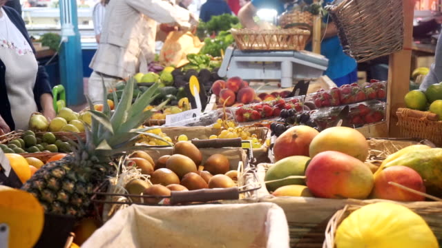 street market in france - market stall stock videos & royalty-free footage