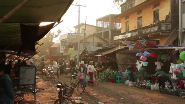 WS Street market / Prome, Pyay, Myanmar