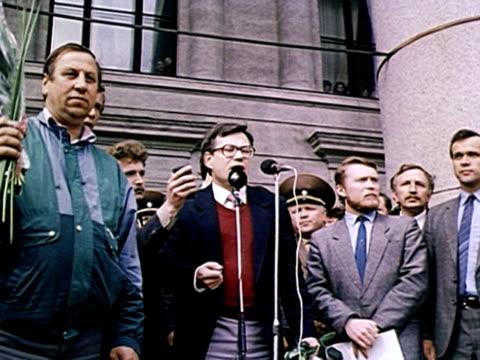 Street meetings ProSoviets against independance AUDIO / Vilnius Lithuania