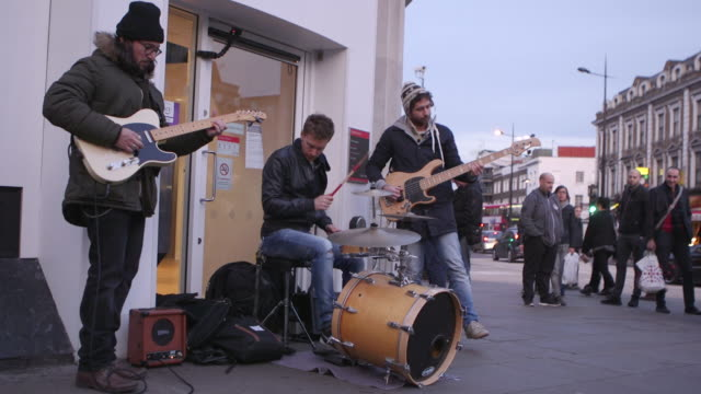 street music baskers - drum percussion instrument stock videos and b-roll footage