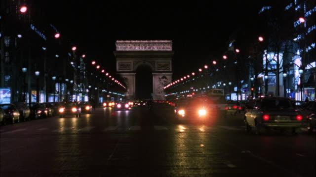 MS POV Street of arch de triumph / Paris, France