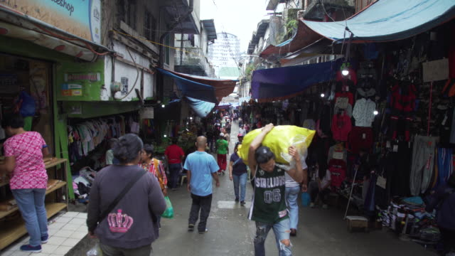 street of baguio city, philippines - luzon stock videos & royalty-free footage